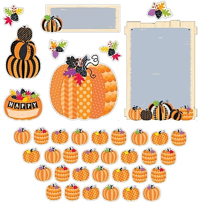 Creative Teaching Press Pumpkin Patch Bulletin Board Set, 39/Set (CTP7070)