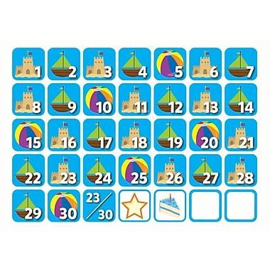 Creative Teaching Press June Seasonal Calendar Days, 37/Pack (CTP6130)