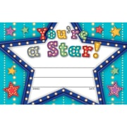 Teacher Created Resources Marquee You're a Star Awards, 150/Set (TCR5485)