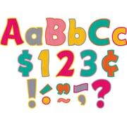 """Teacher Created Resources 4"""" Letters Combo Pack, Tropical Punch Funtastic (TCR5579)"""