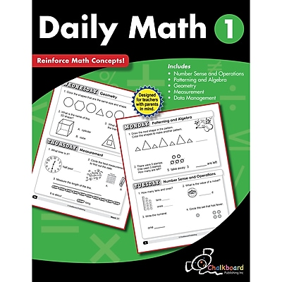 Daily Math Workbook, Grade 1 (CTP8187)
