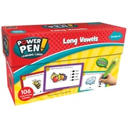 Teacher Created Resources Power Pen Learning Cards: Long Vowels, 53/pack (TCR6102)