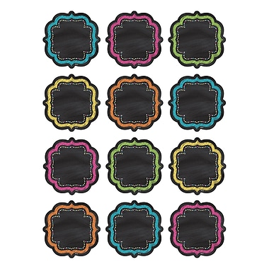 Teacher Created Resources Chalkboard Brights Mini Accents, 36/Pack (TCR5620)