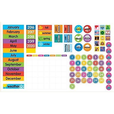 Dowling Magnets Magnet Tools™ Giant Magnetic Calendar Set, 94 Pieces (DO-735025)
