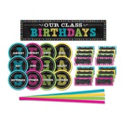 Teacher Created Resources Chalkboard Brights Mini Bulletin Board Set, 61/Set (TCR5506)