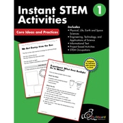 Creative Teaching Press STEM Instant Activities Workbook, Grade 1 (CTP8193)