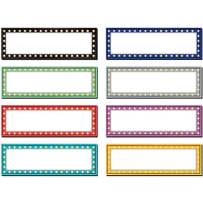 Teacher Created Resources Marquee Labels Magnetic Accents, 20/Pack (TCR77284)