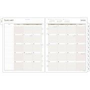 "2021 AT-A-GLANCE Day Runner Daily Refill, 2-Page Per Day, Loose-Leaf, 12 Month, January Start, Size 5, 8 1/2"" x 11"" (491-225-20)"