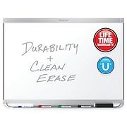 Quartet Prestige 2 DuraMax Porcelain Dry-Erase Whiteboard, Aluminum Frame, 8' x 4' (P558AP2)