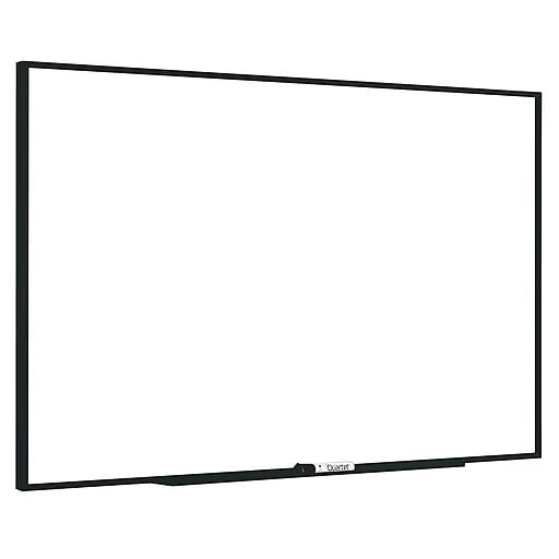 Quartet Fusion Nano-Clean Magnetic Dry-Erase Whiteboard, Anodized Aluminum Frame, 3' x 4' (NA4836FB)