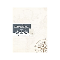 50CT Astrobrights Astrodesigns Everyday Paper Parchment Map Deals