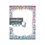 Astrobrights Astrodesigns Everyday Paper, Confetti, 100/Pack (91278)