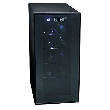 Koolatron 10 Bottle Wine Cellar Touch Control Black (KWT10BN)