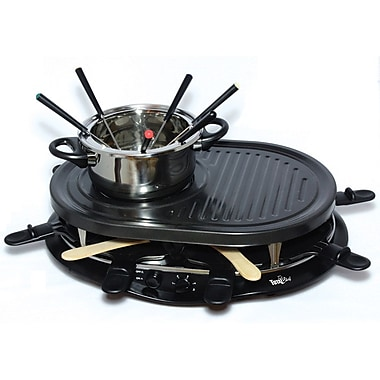 Total Chef Raclette Party Grill with Fondue (TCRF08BN)