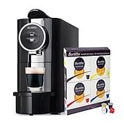 Barsetto Espresso Machine & Sampler of 4 Flavors, 5 Pods Each (622014)