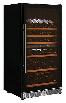 Koolatron 68 Bottle Dual Zone Built In & Free-Standing Wine Cellar (WC68DZ)