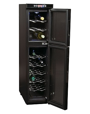 Koolatron 18 Bottle Dual Zone Wine Chiller (WC18MG)