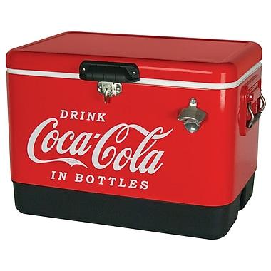 Coca-Cola Metal Ice Chest 54 Quart Red (CCIC-54R)