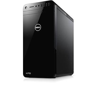 Certified Refurbished Dell XPS 8910 Intel Core i7-6700 X4 3.4GHz 8GB 1TB Win10, Black