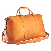 Royce Leather PREMIUM Medium Tan Weekender Duffel Bag (680-TAN-VLS)