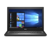 "Refurbished Dell 7280 12.5"" LCD Intel Core i5-7300U 256GB 4GB Microsoft Windows 10 Professional Laptop Black"