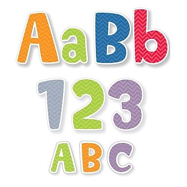 Creative Teaching Press Chevron Letters Pack: 4