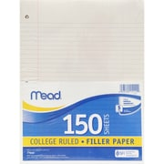 "Mead Refill Paper, College Rule, 8"" x 10.5"", 1800/Set (MEA15111)"