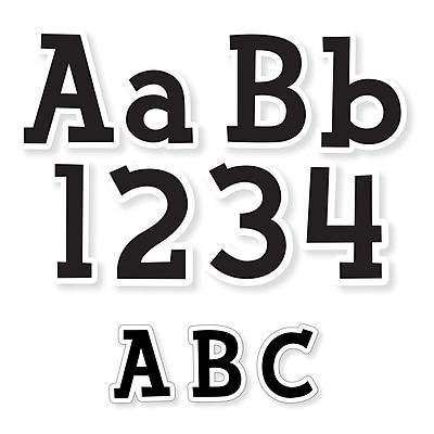 Creative Teaching Press Fancy Black Letters Pack: 4