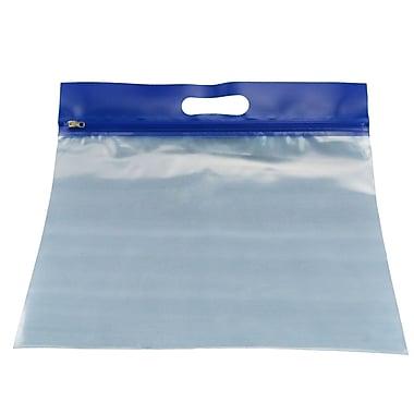 Zipfile Storage Bags 25PK, Blue, 14