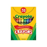 Crayola Crayons 32ct Tuck Box, Assorted Colors. Sold as a set of 6, each set has 32 crayons for a total of 192