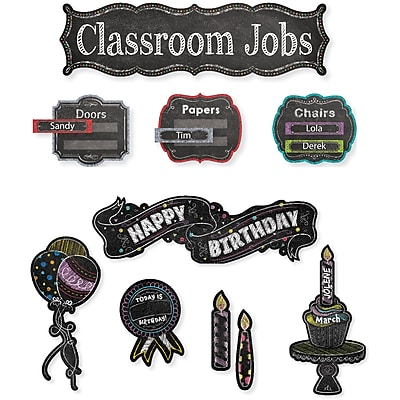 Creative Teaching Press Chalk It Up Mini Bulletin Board Pack, 21