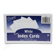 """Pacon Corporation Ruled Index Cards, White, 5"""" x 8"""", 1380/Set (PAC5137)."""