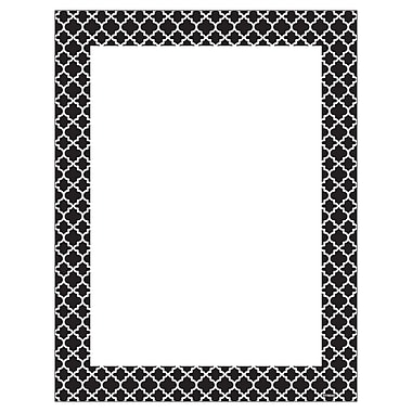 Trend Moroccan Black Terrific Papers. Sold as a set of 6 packs each pack has 50 sheets for a total of 300. (T-11425)