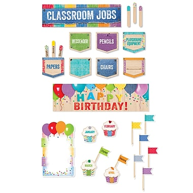 Creative Teaching Press Upcycle Style Mini Bullein Board Pack, 21