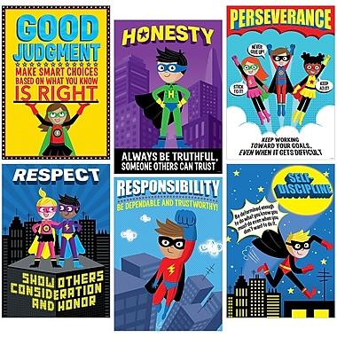 Creative Teaching Press® Superhero Character Ed Inspire U Poster Pack, 13.375