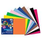 "Pacon® Tru Ray® Construction Paper 12"" x 18"", Bulk Assortment, 250/Pack (PAC6589)"