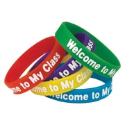Teacher Created Resources Welcome to My Class Wristbands, 30/Set (TCR6023)