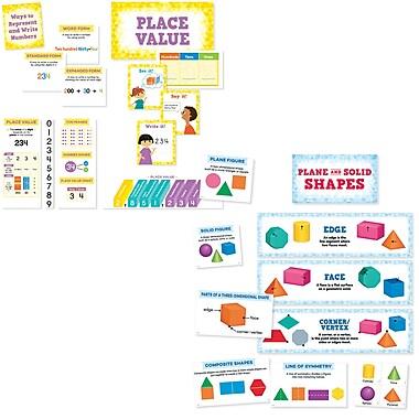 Creative Teaching Press Math Mini Bulletin Board Pack, 21