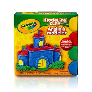 Crayola® Modeling Clay Bucket, 3/Set