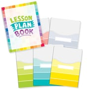 "Creative Teaching Press Painted Palette Lesson Plan Book & 9""x12"" Library Pocket Organizers Combo (CTP8910)"