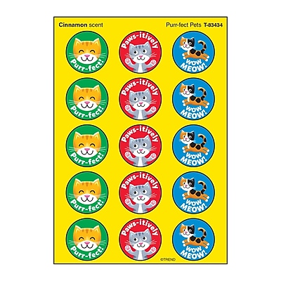 Trend Bug Buddies/Orchard Stinky Stickers®, 60ct per pike, bundle of 6 packs (T-83439)