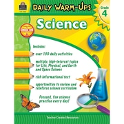Teacher Created Resources Daily Warm-Ups: Science Grade 4 (TCR3969)