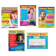 "Trend Technology Learning Charts Combo Pack, 17"" x 22"" (T-38961)"