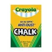 Crayola - Craie sans poussière, blanc, 288/paquet (BIN14021)