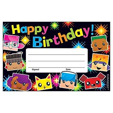 Trend Birthday BlockStars!™ Recognition Awards, 30 per Pack, Bundle of 12 Packs (T-81070)