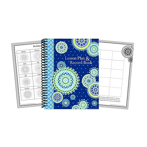 Eureka Blue Harmony 160 Pages Lesson Planner and Record Book, Each (EU-866273)