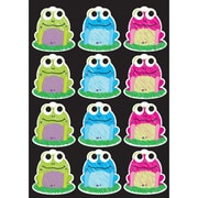 "Ashley Productions Die-Cut Magnets, Scribble Frogs, 2.75"", 12 per sheet (ASH10087)"
