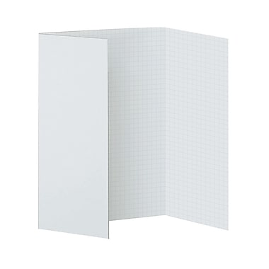 Fade Away Presentation Board, White, 28X22 (PAC3888)