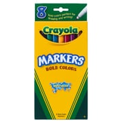 Washable Markers 8ct Bold Colors Fine Tip, Assorted Colors. Sold as a set of 6. Each set has 8 crayons for a total of 48