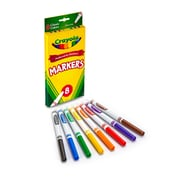 Original Drawing Markers 8 Color Fine Tip, Assorted. Sold as a set of 6, each pack has 8 colors for a total of 48 (BIN7709)